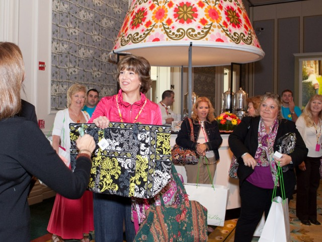 Guests at A Colorful Day: The Ultimate Vera Bradley Experience