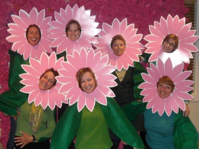 Vera Bradley Administrative Team on Halloween