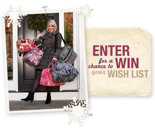 Enter for a chance to win your wish list!