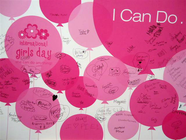 International Girls Day event hosted at Vera Bradley at The Shops of Saddle Creek