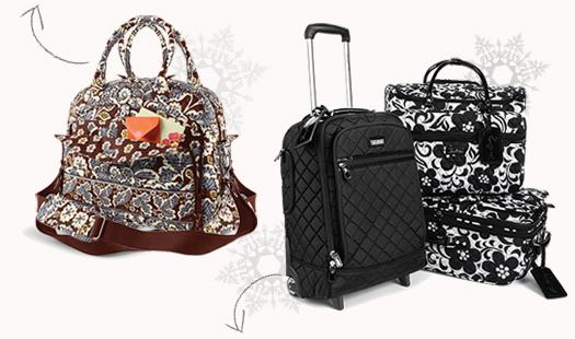 Metropolitan and Vera Bradley Rolling Luggage