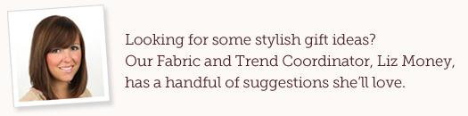 Liz Money, Fabric and Trend Coordinator