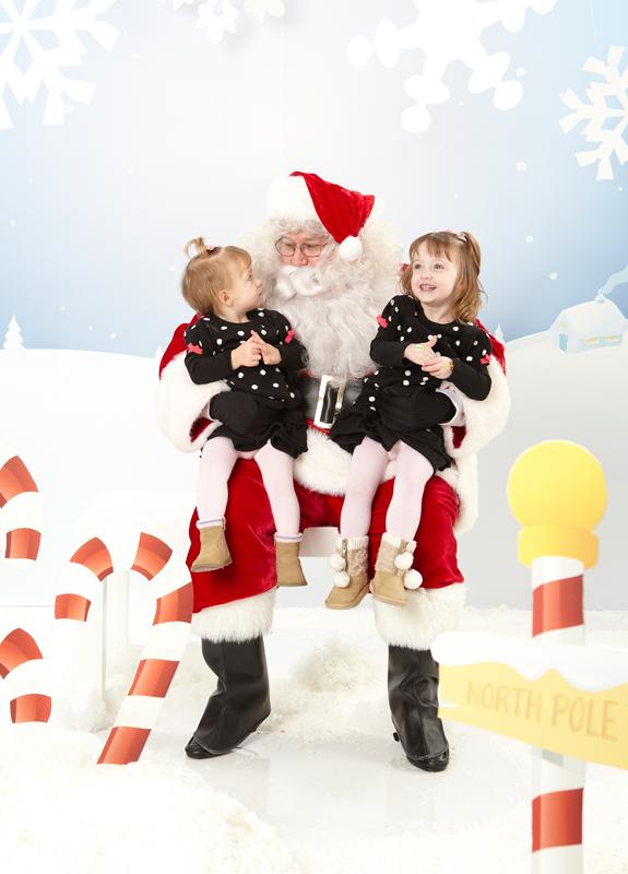 Vera Bradley Santa Party
