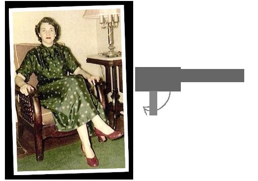 Liz's grandmother and stye inspiration