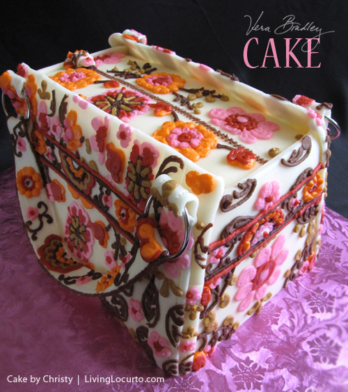 Vera Bradley Cake spotted on Living Locurto