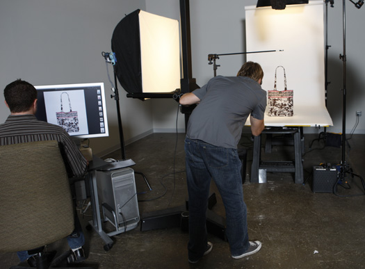 Our in-house photo studio