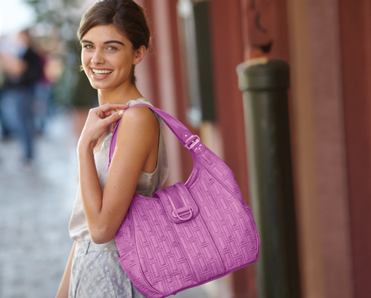 Structured Hobo in Lilac