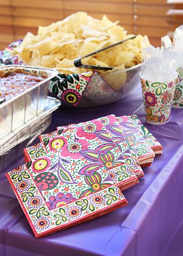 Luncheon Napkins in Viva la Vera