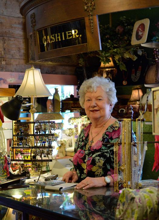 Nan Walvoord, owner of The Vintage House in Carrollton, Texas