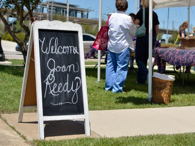 Welcome Joan Reedy