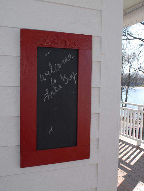 Barb's Lake House: Green Gables on Lake Gage