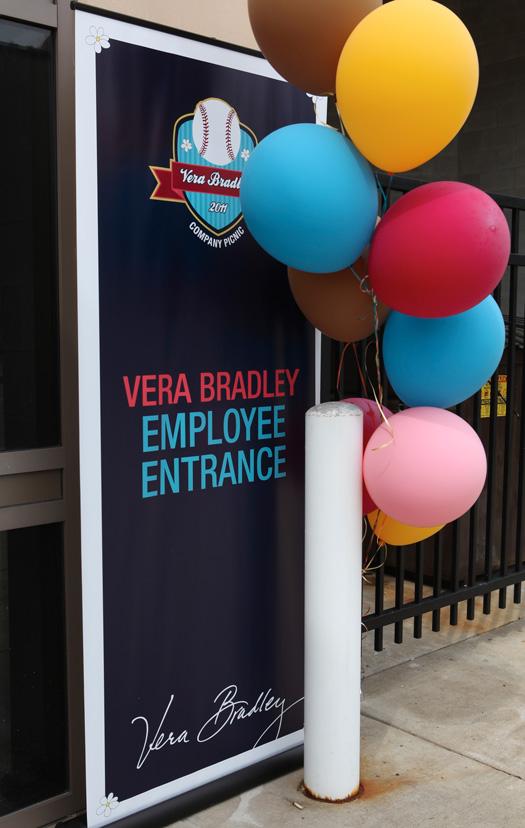 Vera Bradley Company Picnic