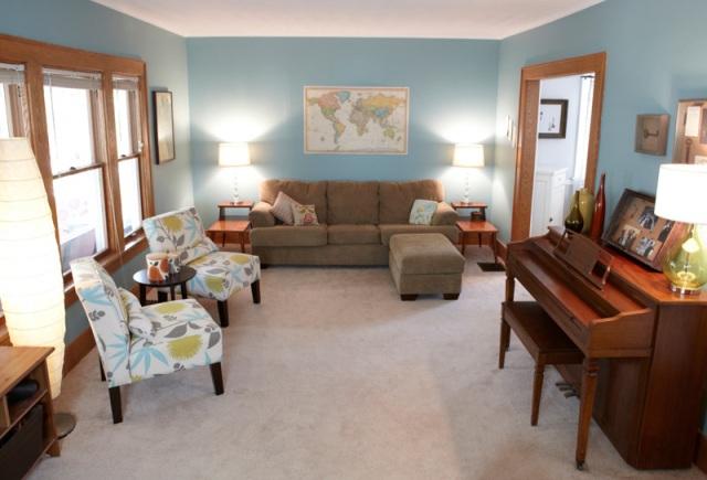 Home of Amanda Campbell, Vera Bradley Design Associate