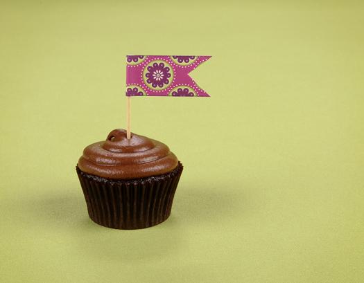 DIY: Cupcake Toppers