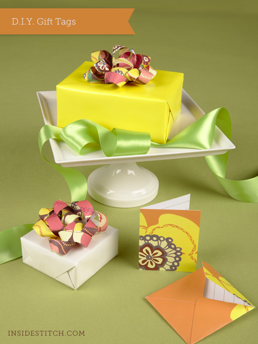 DIY: Gift Tags and Mini Envelope with Card