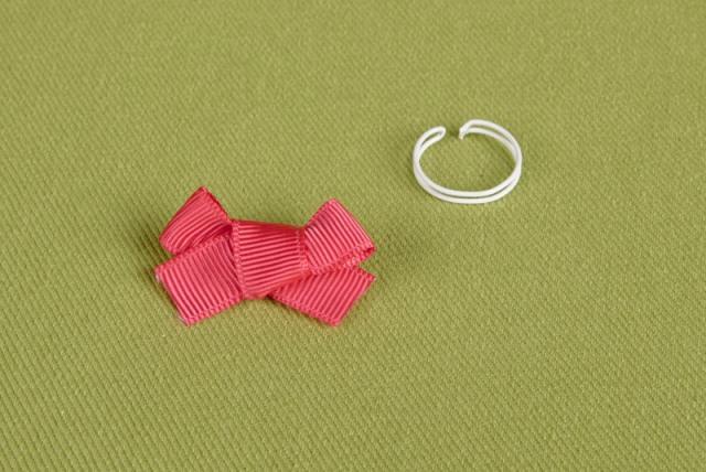 DIY: Bow Ring