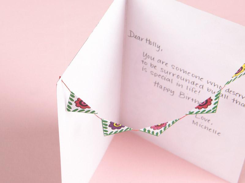 DIY Wednesday Birthday Card – How to End a Birthday Card