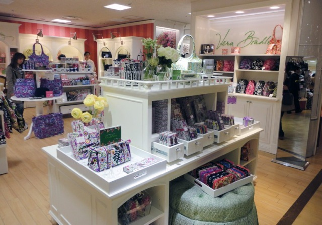 Vera Bradley pop-up store: Isetan