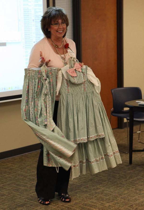 Jessica's mom shares her Vera Bradley dresses