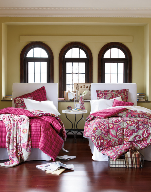 New! Vera Bradley Bedding collection launches June 28.