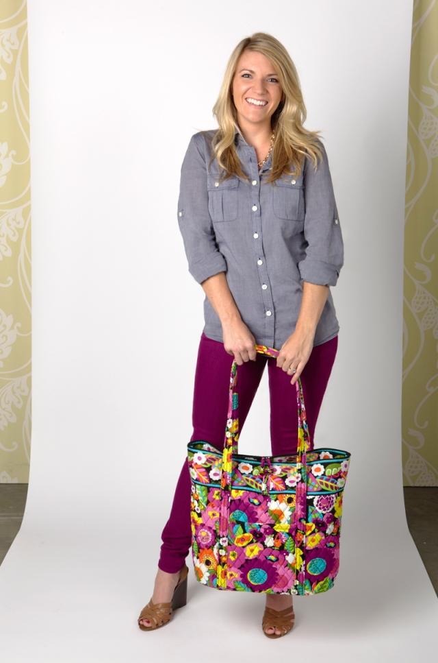 Jenna carries ...