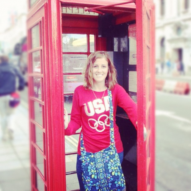 Follow Britni, London 2012