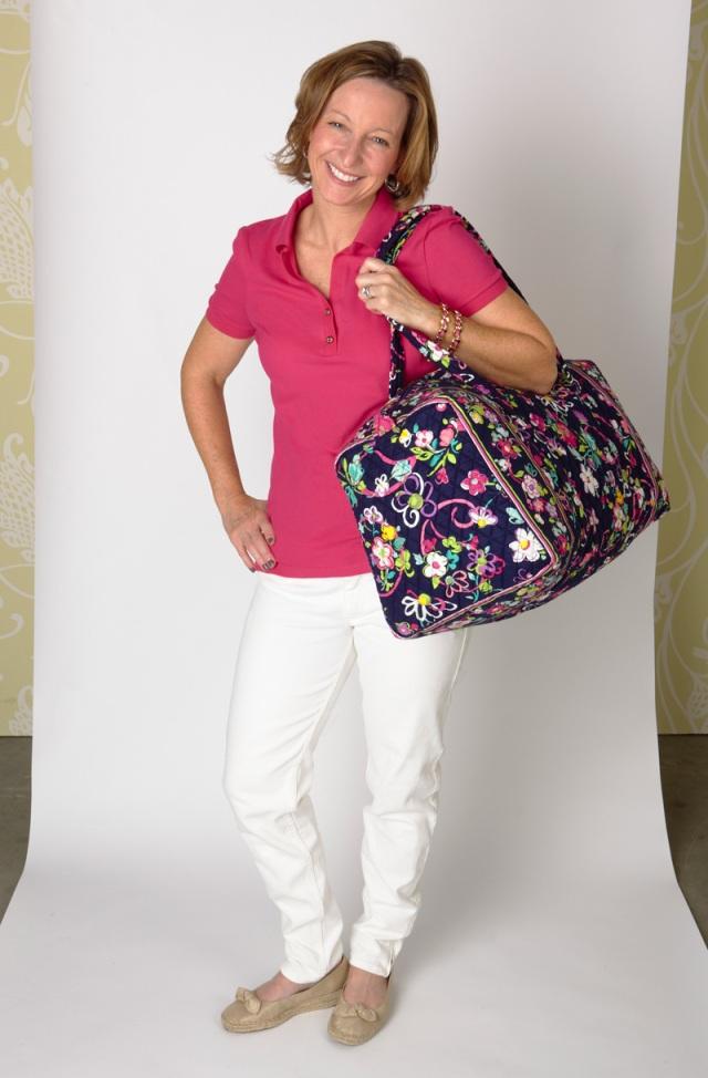 Catherine carries ...