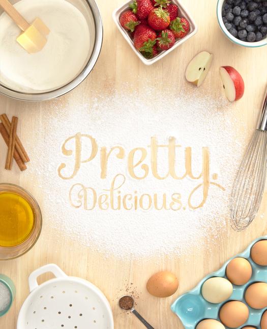 Pretty. Delicious.