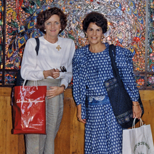 Vera Bradley Co-Founders, Barbara Bradley Baekgaard and Patricia R. Miller