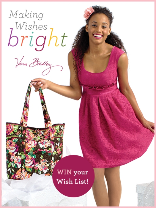 Vera Bradley Making Wishes Bright
