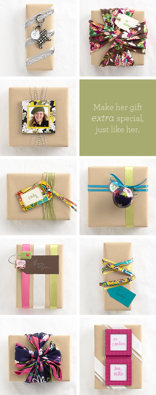 Make her gift extra special, just like her
