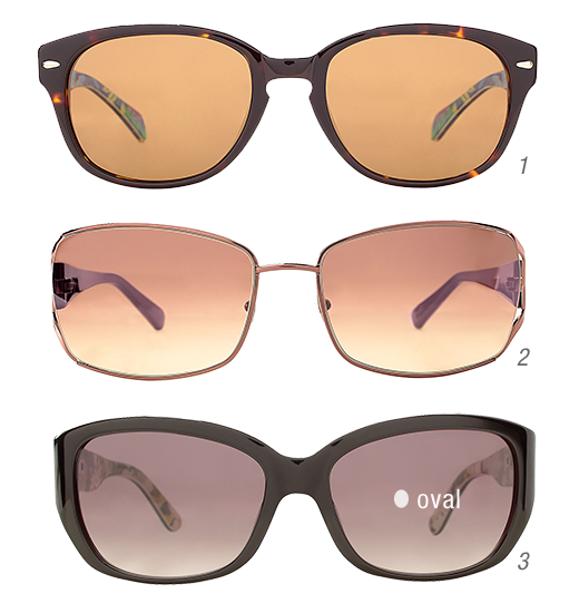 Sunglasses: Oval