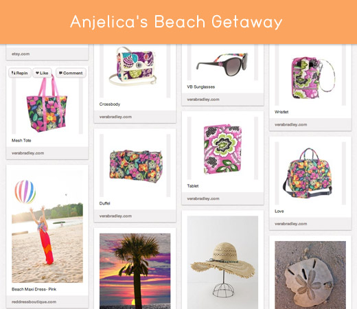 Vera Bradley Pack Your Bags winner