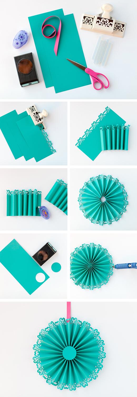 DIY: Paper Medallions